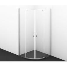 Душевой уголок Wasserkraft Leine 35P01, сектор, с распашными дверьми