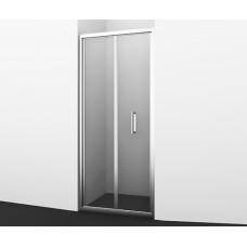 Душевая дверь Wasserkraft Weser 78F04, гармошка, универсальная